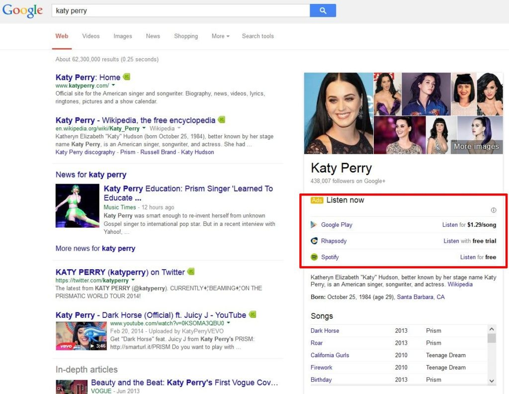 google-knowledge-graph-ads-music-stream-3