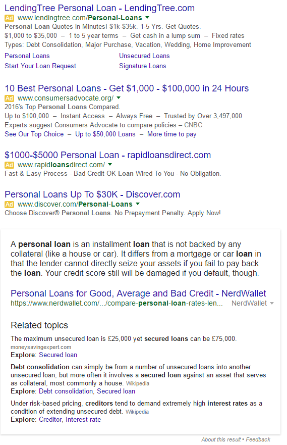 Google Featured Extended Snippet 2