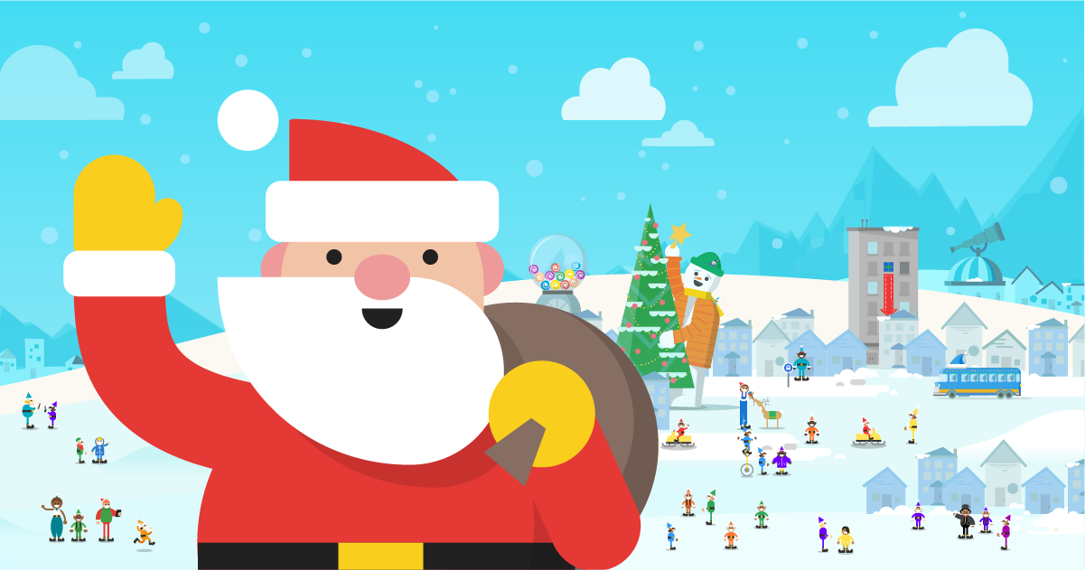 google santa tracker is live counting down the days until christmas